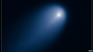 Even to the Hubble, ISON is little more than a fuzzy patch. That will change after the comet passes the frost line.