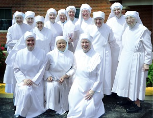 The Little Sisters of the Poor are an international Roman Catholic Congregation of women Religious founded in 1839 by St. Jeanne Jugan.  They operate homes in 31 countries, where they provide loving care for over 13,000 needy elderly persons.  Thirty of these homes are located in the United States
