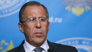 It was the Russian Foreign Minister, Sergey Lavrov, not Obama who came up the solution with peace.