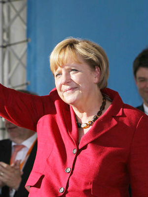 A Protestant pastor's daughter from East Germany, the euro-zone crisis has hit the careers of other European leaders - but not for German Chancellor Angela Merkel.