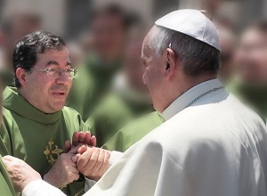 Fr Frank Pavone and His Holiness Pope Francis