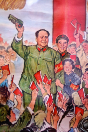 Mao's Little Red book has been central to the ongoing Chinese Revolution and is rumored to have outprinted the Bible. Now, the Little Red Book is being replaced in colleges with Edmund Burke.