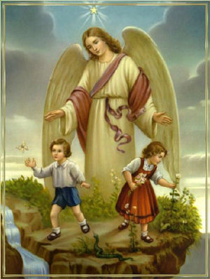 Our Guardian Angels protect us.