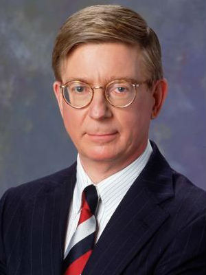 While he is generally considered a conservative, George Will says he has become more libertarian over time.