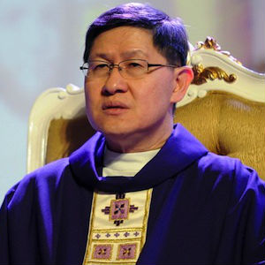 As to young Filipino people and what the church here needs to accomplish, Cardinal Tagle shared the results of a recent survey on this topic in his homeland.