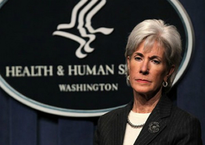 Kathleen Sebelius says she's Catholic, which makes it painful to see her support an inherently anti-Catholic law.