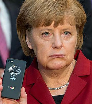 Nonplussed over recent discoveries made in the German news media, Germany's Chancellor Angela Merkel said it is 'really not on' for friends to spy on each other.