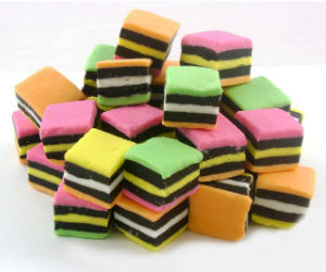 If you've never enjoyed Licorice Allsorts - do so at once! Even if you don't have skin cancer.
