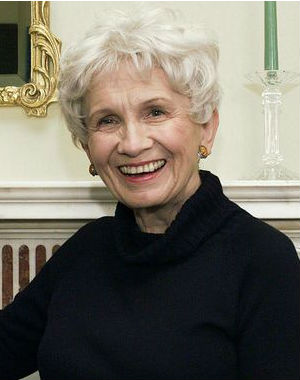 Eighty-two-year-old author Alice Munro has been by the academy for her 'finely tuned storytelling, which is characterized by clarity and psychological realism.'