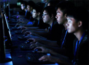 China is employing 2 million people to constantly surf the web, searching for 'rumors.'