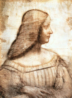 The painting's existence had been debated. Historians argued over whether Leonardo had actually had the time or inclination to develop the sketch into a painted portrait.