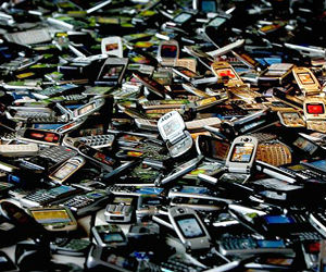 Americans discard 130 million cell phones every year and most end up in landfills or incinerators - only eight percent are recycled safely.