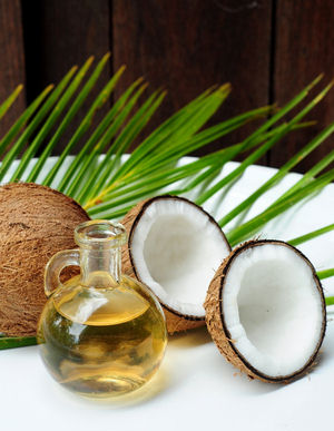 Coconut oil is a healthy super-food.