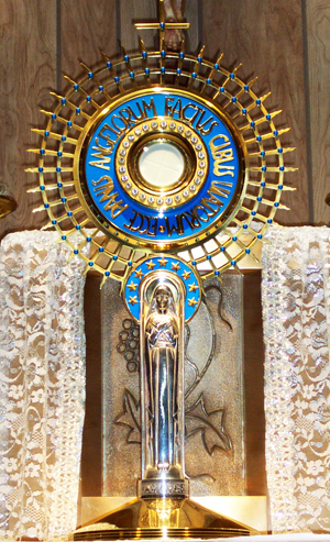 The continuation of Perpetual Eucharistic Adoration is in jeopardy.