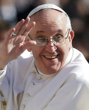 Pope Francis is a mega-celebrity of the highest order - and a different kind of order. While others are famous for lying, twerking or their supposed good looks, Pope Francis seems to be famous for only the noblest of intentions.