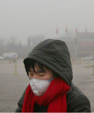 chinas air pollution blamed for eight year olds lung cancer An 8-year-old girl in jiangsu province is the youngest person in china to have received a diagnosis of lung cancer, which a doctor treating her has attributed to air pollution, according to an official news report.