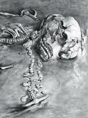 The bones in question belonged to a boy who died as a toddler some 24,000 years ago. Discovered at the Mal'ta archeological site, which sits near Lake Baikal in Siberia and which was excavated between 1928 and 1958.