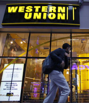 The CIA is reportedly secretly collecting bulk records of international money transfers handled by companies like Western Union.