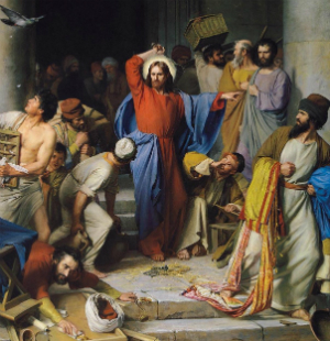 Christ chased the moneylenders from the Temple. Does Pope Francis threaten the same?