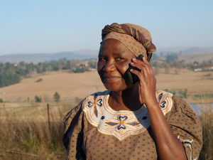 Africa is already inundated with cellular phones, and now the smartphones are bringing the internet.