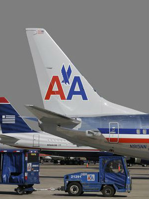 American Airline's shares jumped 26 percent in over-the-counter trading to $12.
