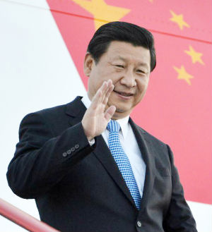 Chinese President Xi Jinping,pictured, along Premier Li Keqiang are expected to outline a plan. There has been a long-growing consensus that China's long-successful economic model needs to change.