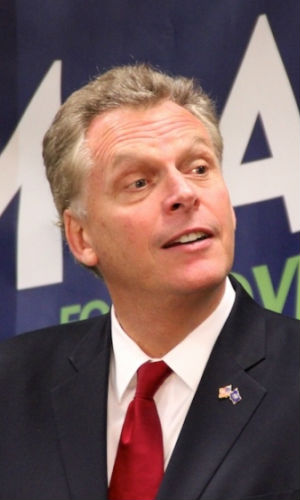 Terry McAuliffe's autobiography, entitled 'What a Party!' promoted Bill Clinton inaugural merchandise on the QVC shopping channel.