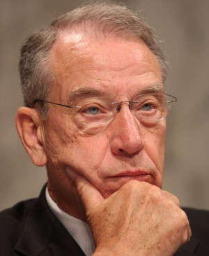 'Disclosure and transparency would be a good practice for any recipient of federal funding to promote the administration's health care plan,' Senator Chuck Grassley (R - Iowa) said.