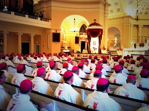 US Bishops begin their important deliberations with Holy Mass