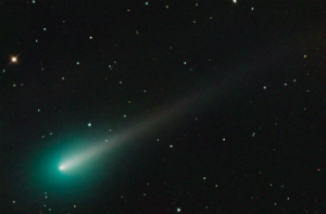 Comet ISON as imaged last month.