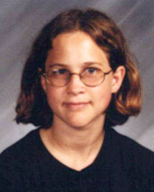 Connie McAllister at the age of 16, at the time she was abducted from her home in Wisconsin in 2004.