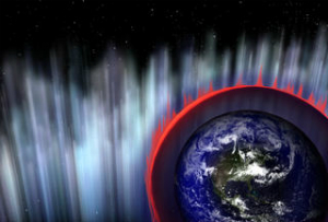 A gamma ray burst may have killed much of the life on Earth 450 million years ago. Such events are frightening to those who know about them, fortunately the risk is low.