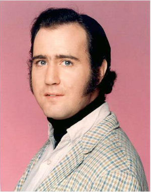 In a gesture that comedian Andy Kaufman would have approved, a woman now claiming to be his 'daughter' insists that he's still alive, after being pronounced dead from lung cancer back in 1984.