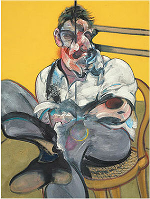 Francis Bacon's triptych, 'Three Studies of Lucian Freud,' painted in 1969 has fetched a whopping $142.4 million, breaking the record for a work of art sold at auction