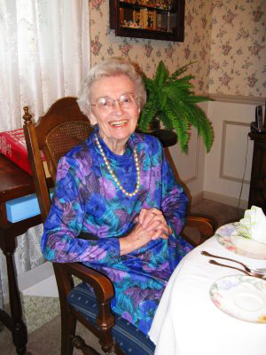 Mother's 90th birthday.