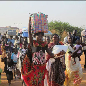 There has been an influx of wounded to Juba's two main hospitals.