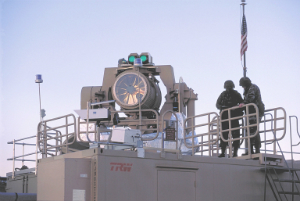 A different laser, the THEL has already been evaluated by the military. Weaponized lasers will likely come into regular use within the next decade.