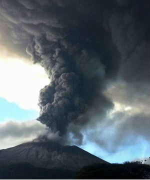 The Salvadoran government says it had been monitoring the situation since the 13th of this month, when they detected increased activity inside the volcano.