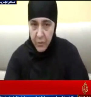One woman captive appeared on a video shortly after their capture saying they were alive and well.