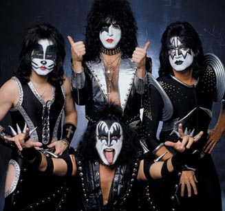 'Kiss brings the complete package,' a representative for the Hall of Fame says. 'An exhilarating adolescent fantasy combination of costumes, fire-breathing pyrotechnics and over-the-top anthems that revel in a frenzy of testosterone and rock 'n' roll glory.'