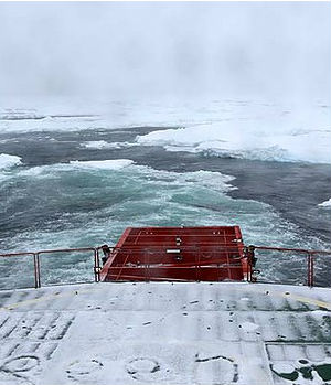 The Aurora Australis made it to within 10 nautical miles of the stranded MV Akademik Shokalskiy. The Aurora Australis said further rescue attempts could be made once the weather improves.