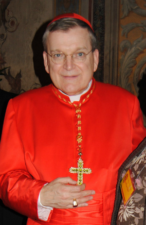 Cardinal Burke was recently praised by Pope Francis for his advocacy.