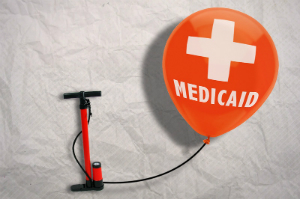 Medicaid expenditures are projected to balloon over the next decade.