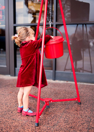 'For it is in giving that we receive', St. Francis of Assisi.