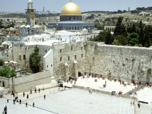 Jews may pray at the Wailing Wall, but any closer and it's jihad.