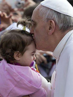 Pope Francis is also known for 'walking the walk' when it comes to leading a more simple life.