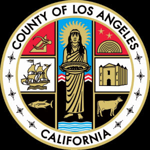 Note the San Gabriel Mission in the right center portion of the seal -- sans cross. It will shortly be replaced.