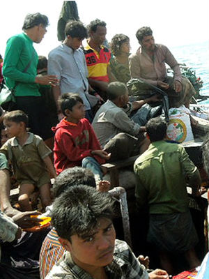 Apartheid tactics being used against the Rohingya by Buddhists in Myanmar has sent many seeking asylum by boat.