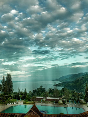 Among the supervolcanoes on Earth are Lake Toba in Indonesia, above, Lake Taupo in New Zealand and the somewhat smaller Phlegraean Fields near Naples, Italy.