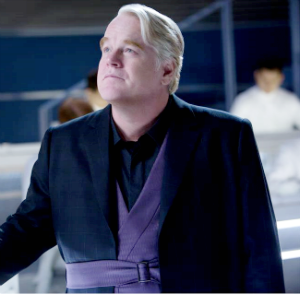 Phillip Seymour Hoffman portrayed Plutarch Heavensbee in 'The Hunger Games: Catching Fire' and was to reprise that role in the two-part sequel, 'The Hunger Games: Mockingjay.'